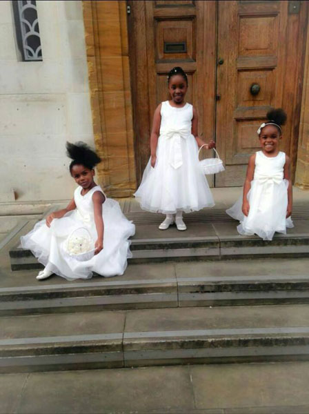 Little bridemaids