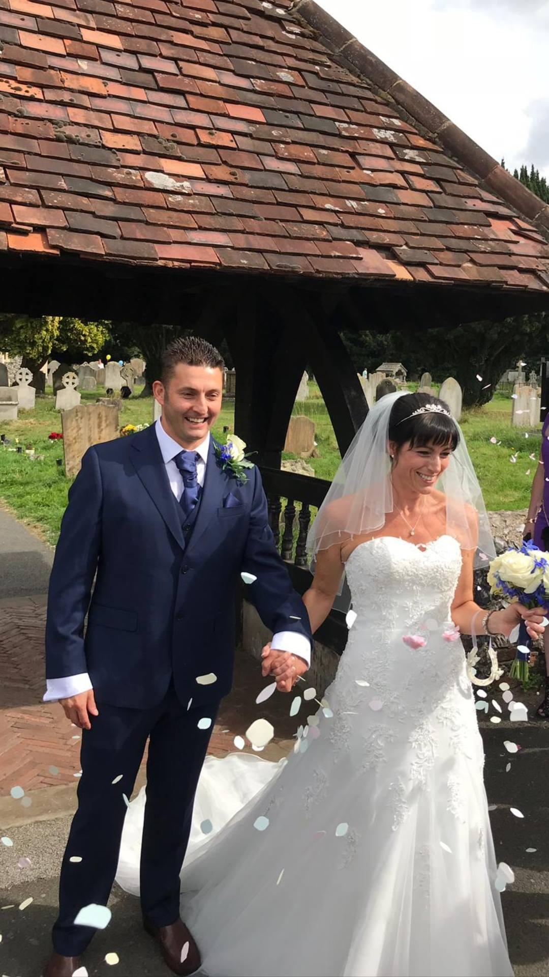 wedding dress in Surrey