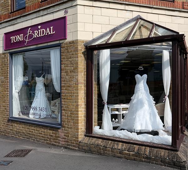 wedding dress shops in Surrey